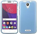 TPU SchutzHülle für Alcatel PIXI 4 5.0 Zoll ( 5010D ) Silikon Hülle Bumper Zubehör Silikontasche in Blau @ Energmix