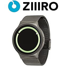 ZIIIRO Watch - Eclipse Metallic - Gunmetal/Mint