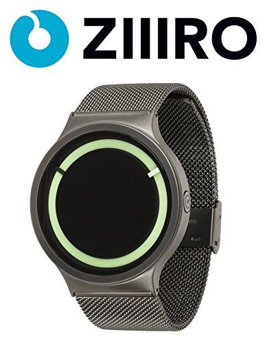 ziiiro-watch-eclipse-metallic-gunmetal-mint
