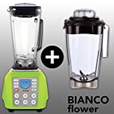 BIANCO forte (Grün / Green) + BIANCO flower + Buch