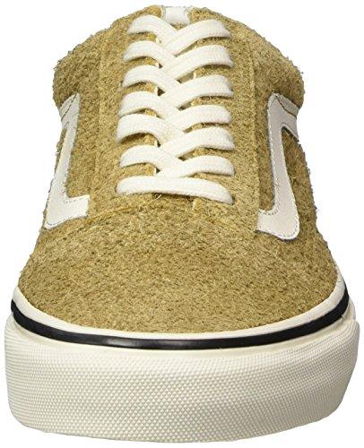 Vans Old Skool Suede, Sneaker Unisexe-adulte Giallo (suède Floue / Médaille De Bronze)