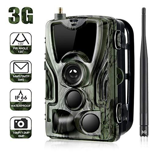 Four Wildlife Trail Kamera 1080p 3G HD mit Night Vision IP65 Waterproof Infrarot für die Außen-und Heimsicherheitsüberwachung