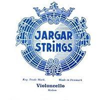 CUERDA VIOLONCELLO - Jargar (Azul) (Cromo) 2ª Medium Cello 4/4 (Re) D (Una Unidad)