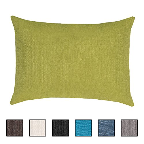 Extra großes Sofakissen von Salosan®. Lounge- und Rückenkissen, Kopfkissen, Dekokissen. Größe ca. 60x80 cm. Farbe: (Grün)