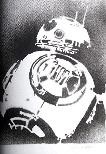 BB8 STAR WARS Handmade Street Art - Artwork - (Tauntaun Kostüm)