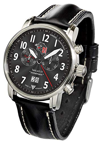 Junkers Bracciale Orologio Cronografo edizione speciale CH 53