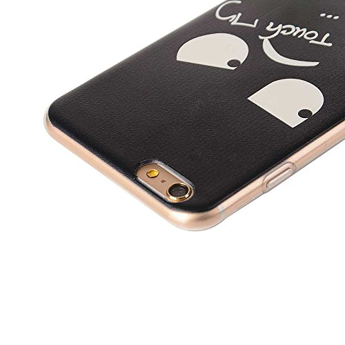"Transparent iPhone 6S Hülle, Flexibel TPU Dünn Slim Licht Hübsch Malerei Bild - Tier Katze - Cover Case für Apple iPhone 6 Plus 6S Plus 5.5"" Color-13"