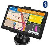 Sat Nav GPS Navigation System, YoJetSing 7 inch Bluetooth 8GB 256MB Car Truck