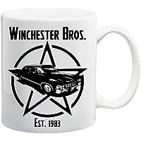 Bedruckte Tasse mit Motiv Supernatural Winchester Brothers Motivtasse Kaffeebecher Kaffeetasse