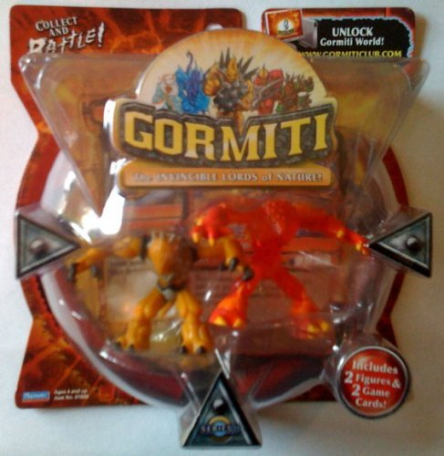 Gormiti Series 1 Blind Fury and The Thoughtcatcher 2 Pack by Gormiti