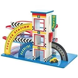 Le Toy Van : juguete de madera garaje