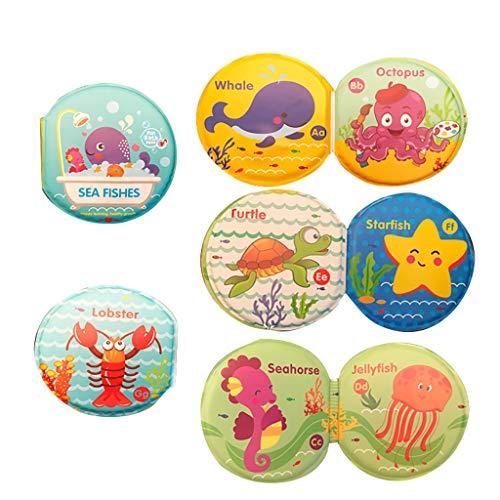 Plüsch Bildung Squishy Spielzeug aufblasbares Spielzeug im Freien Spielzeug,Bad Bücher Baby Bildung Spielzeug Intelligence Development Eva Floating Cognize Book ()