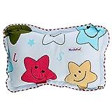 #7: WonderKart Star Print Feeding & Nursing Baby Neck Pillow - Blue