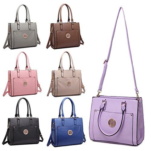 Miss Lulu ,  Damen Tasche braun