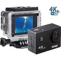 Action Cam, Sainlogic Unterwasser Kamera 4K,WIFI Wasserdicht Cam 16 MP Ultra FHD Helmkamera