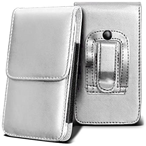 SPRINT FORCE Holster Case - ( White ) Universal Vertical