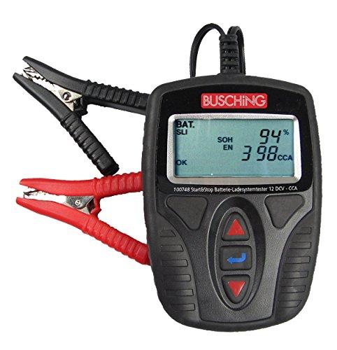 Busching Batterietester und Ladesystemtester (12 V / 150 Ah, auch Start-Stopp)