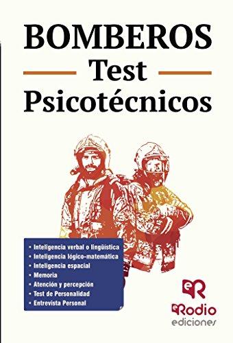 Bomberos. Test Psicotécnicos por Vv.Aa. Vv.aa.