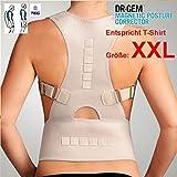 """TEG533XL - für T-Shirt Größe """"XXL"""" - medizinisch orthopädischer Rückenstabilisator"""