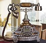 Antike Telefon, Europäischen Wohnzimmer Schlafzimmer Telefon/Büro Schreibtisch Schreibtisch Telefon/Feste 25 X 26 X 29 Cm Handy (color:#2)