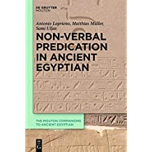 Non-Verbal Predication in Ancient Egyptian (The Mouton Companions to Ancient Egyptian)