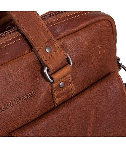 The Chesterfield Brand George Business Aktentasche Leder 40 cm Laptopfach schwarz