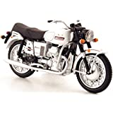 Moto Guzzi V7 Special, weiss, Modellauto, Fertigmodell, MCW-SC46 1:24