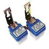 2x MINI Dämmerungsschalter 12V 10A Dämmerungssensor Lichtsensor twilight switch