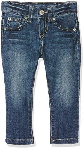 Benetton Trousers, Pantaloni Bambino, Blu (DARK DENIM), 4-5 anni (Taglia Produttore: XS)