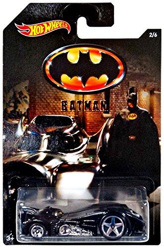 Hot Wheels, 2015Batman, Batman 1989película batmóvil exclusivo fundido vehículo # 2/6