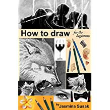 How to draw for the beginners: Step-by-Step Drawing Tutorials, Techniques, Sketching, Shading, Learn to Draw Animals, People, Realistic Drawings with Graphite ... Sketch Guide, Draw Faces (English Edition)