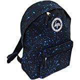 Hype Unisex-adults Speckle Backpack (Black/Sky)