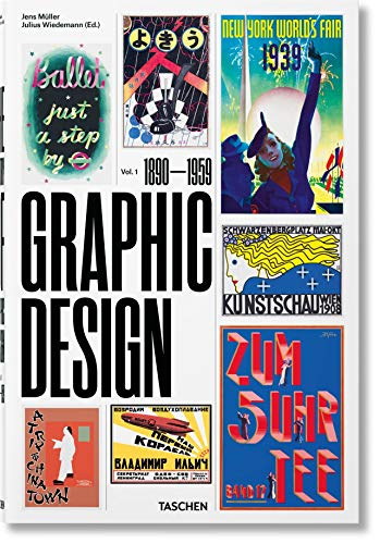 The History of Graphic Design. Vol. 1, 1890-1959 -