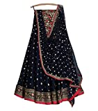 #7: Lehenga Choli (styleelitee Women's Heavy Embroidered Tafeta Silk lehnga/Lehenga Choli/Lehenga Choli For Women)