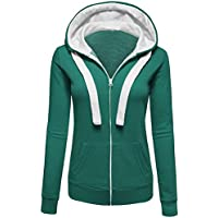 Damen Jacket Langarm Sweatjacke Kapuzenjacke Sweatshirt Jacke Herbst Frühling Heißer Coat Outwear Warm HoodieHoody Sweatershirt Hooded Jumper Pullover Coat Zip Jacket