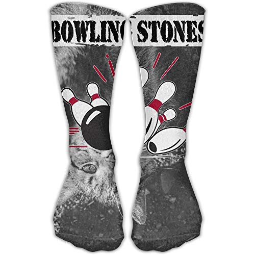 Xdevrbk Bowling Stones 3D Printing Anti-odor Running Long Sock Athletic Socks -