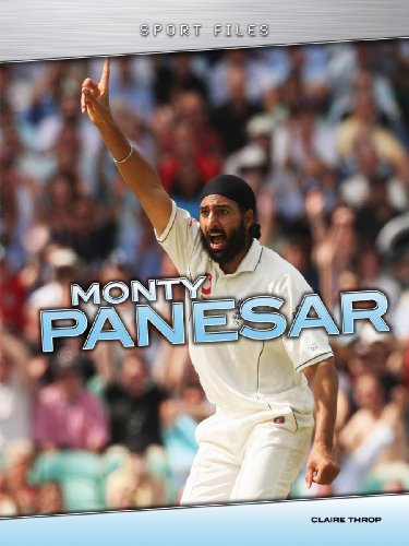 Monty Panesar (Sport Files) por Claire Throp