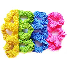 12 coleteros tela 4 colores diseño lunares muy elasticos alta calidad
