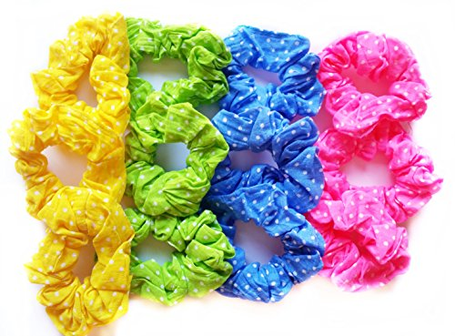 12-coleteros-tela-4-colores-diseno-lunares-muy-elasticos-alta-calidad