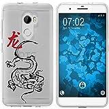 PhoneNatic Case kompatibel mit HTC One X10 Silikon-Hülle Tierkreis Chinesisch M5