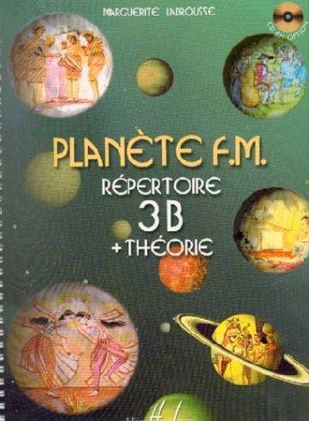 Partition : Planète FM 3B - Répertoire + Théorie