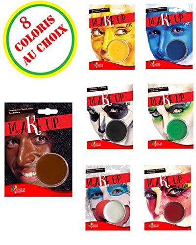 Goodmark–aq05024AquaExpress–Make-up auf Wasserbasis, Rot, 14g