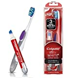 Colgate Max White Expert Spazzolino da denti e penna sbiancante - Fino a 3 tonalità Denti più bianchi - Clinicamente testati