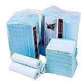 Dominiti 100x Unterlage für Welpentoilette SAUGSTARK Toiletentrainer für kleine und alte Hunde Hundetoilette