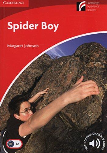 Spider Boy Level 1 Beginner/Elementary (Cambridge Experience Readers) por Margaret Johnson