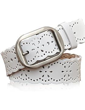 Hueco Cinturón Blanco/PIN Hebillas,Moda,Ganado Cuero,Obi