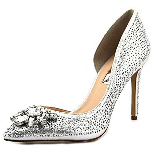 INC International Concepts Kenjay2 Toile Talons Pearl Silver