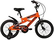 Firefox Zunami 16T Kids Cycle I Ideal for :5-7 Years I Light Weight Frame | Anti-Skid Pedal I Power Brake I Se