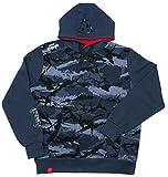 Fox Rage Camo Hoody - Angelpullover, Hoodie für Angler, Kapuzenpullover, Camouflage Pullover, Anglerpullover, Angelbekleidung, Größe:XXL