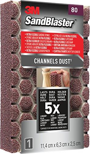 Sandblaster Schwämme Abrasive ultraflessibili P120, violett, 980SBE (Abrasive Blaster)